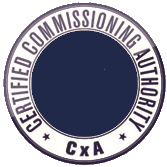 Certified Commisioning Authority - CxA